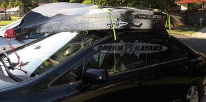 Kayak Soft Roof Racks