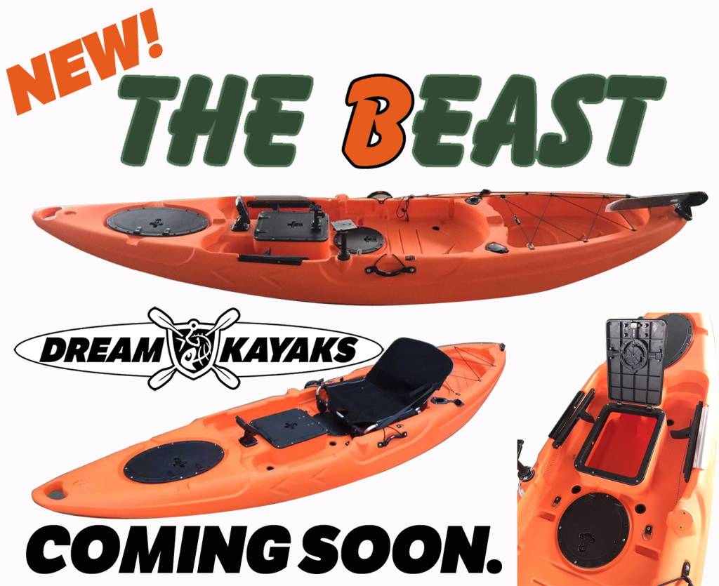 The BEAST Fishing Kayak