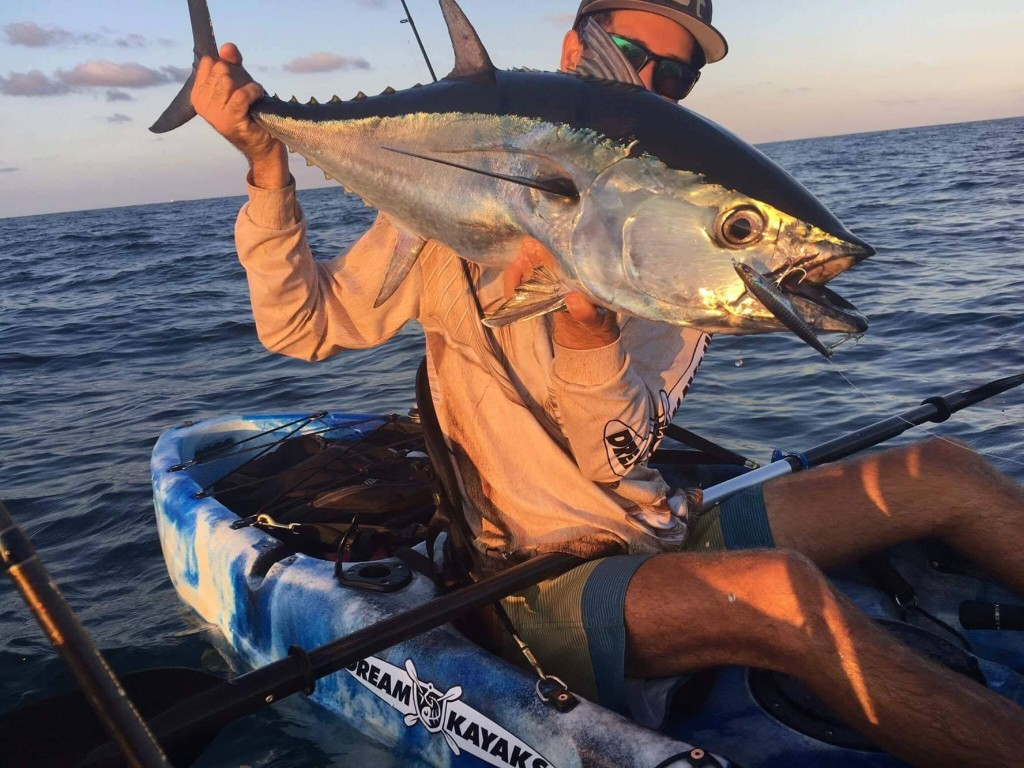 Longtail Tuna from the Kayak