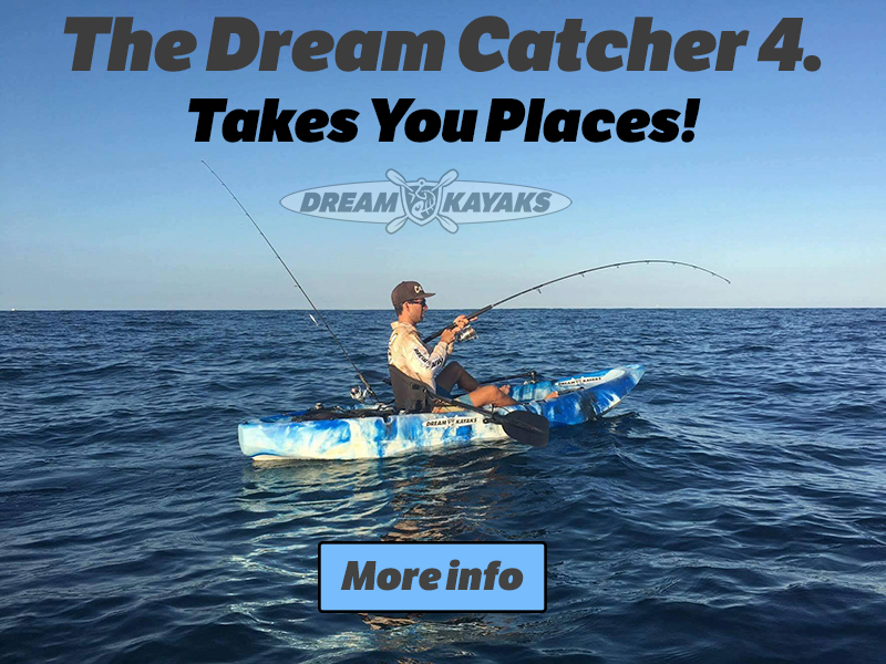 Dream Catcher 4 Fishing Kayak Perth Brisbane