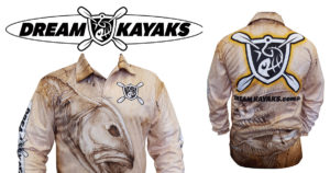 Dream Kayaks Fishing Shirt Giveaway