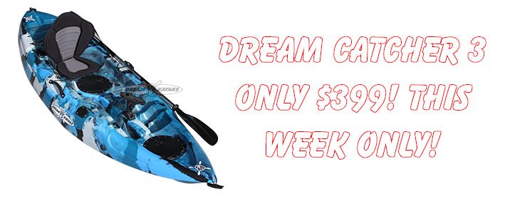 Dream Catcher 3 Kayak Discount