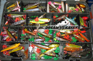 Poppers for Kayak Surface Luring